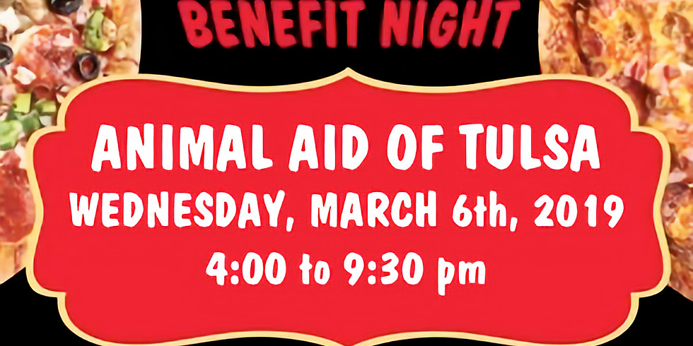Benefit Night at Hideaway Pizza