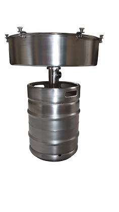 Large Stainless Steel Buchner Funnel
