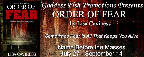Order of Fear - Blog Tour