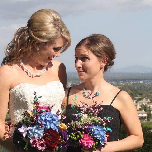 Pearl & Swarovski 3-Strand Woven Necklace; Blue & Silver Simple Bridesmaid Neckl