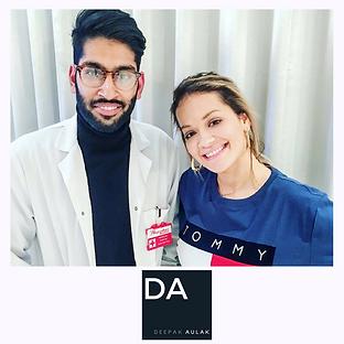 Dr Deepak Aulak Rita Ora Dentist