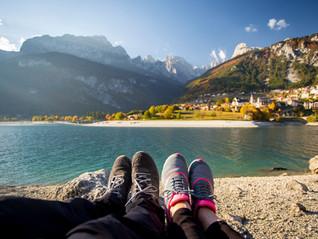 Escursione ai piedi delle Dolomiti di Brenta tra il lago di Nembia, la sua oasi e il lago di Molveno