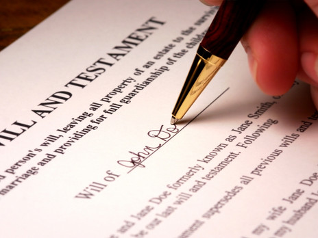 60% of Americans Have Not Made a Will