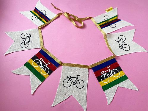 UCI Cycling Internationale Party Celeberation Le tour De France Bunting