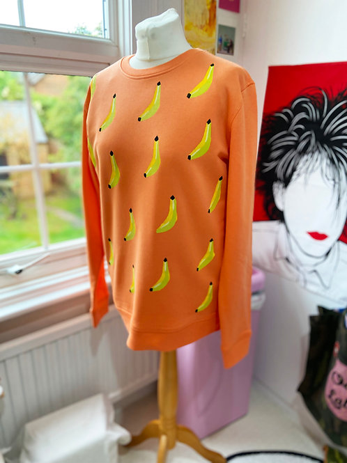 Banana Print Sweater