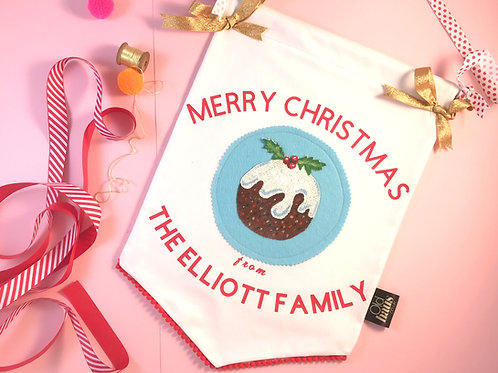 Christmas Decoration Wall Hanging Christmas Banner Table Decoration Personalised