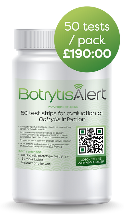 50 tests / pack  £190.00