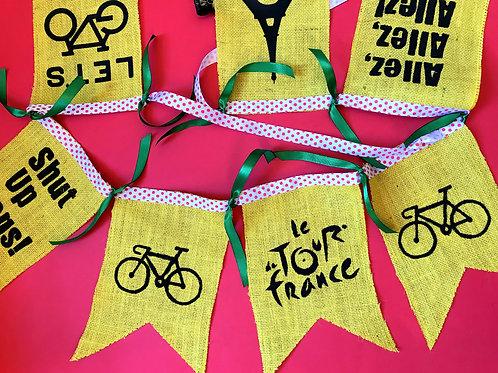 Cycle Gift Le Tour de France Bunting Decoration