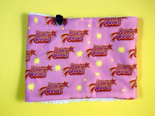Face Mask Super Duper Pink Snood Scarf Neck Warmer