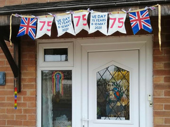 VE DAY BUNTING 8TH MAY 2020