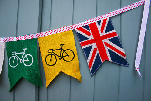 Cycle Gift Cycle Tour Of Britain Bunting Decoration