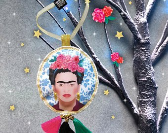 Frida Kahlo by SHerwood Made Uk etsy