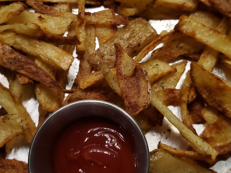 The BEST Crispy Baked Fries Recipe