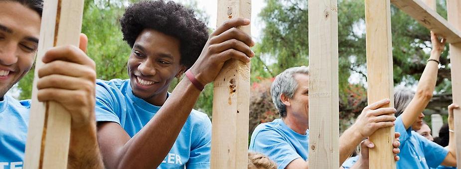 Philanthropy volunteer work