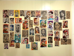 Covid Recycled Portraits 1