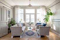 Gårdsstyling homestyling vardagsrum
