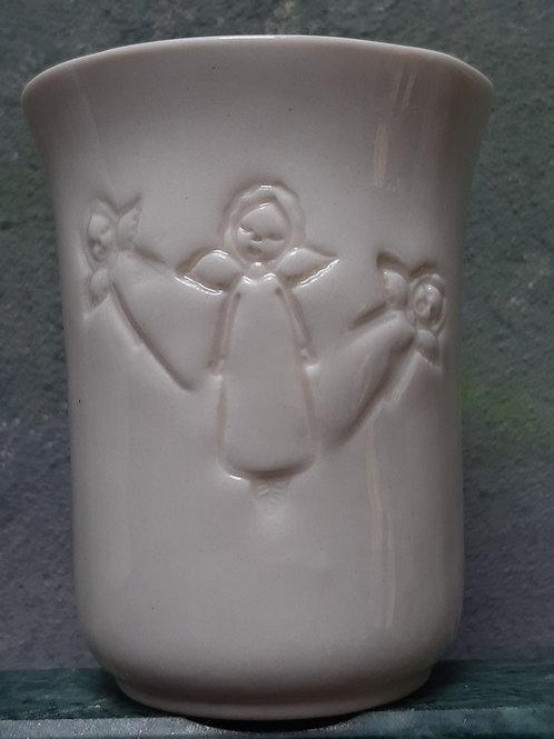 Průsvitový porcelán s andělkami