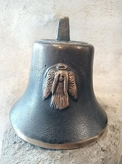 Zvon Ital velký s reliéfem anděla, Ø90mm