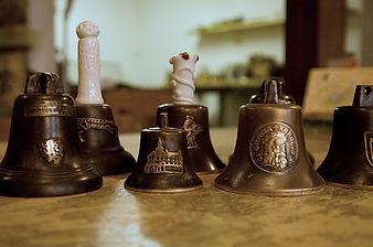 Unikátní zvonky odlité z bronzu