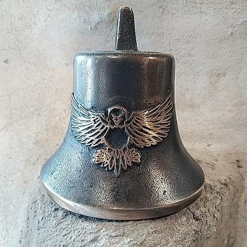 Zvon Ital velký s reliéfem orla, Ø90mm