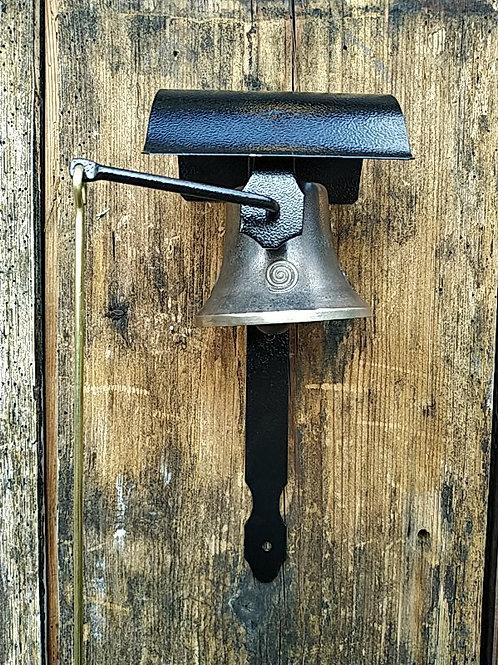 Zvonice boční s reliéfem spirál, Ø90mm