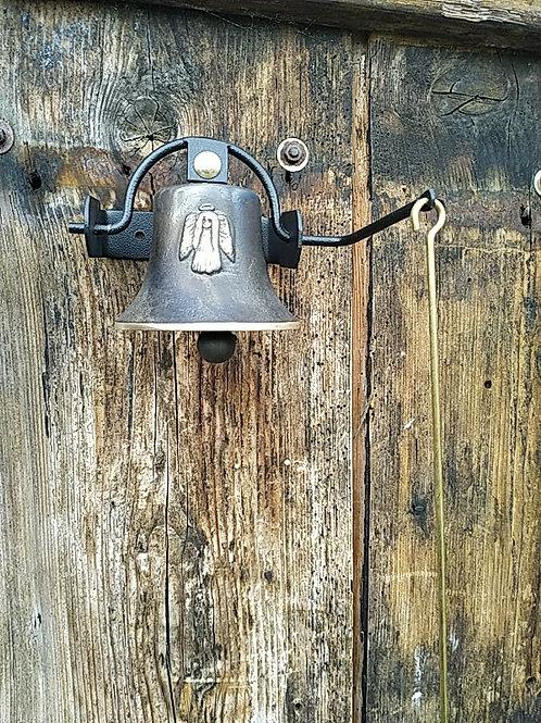 Zvonice jednoduchá s reliéfem anděla, Ø90mm