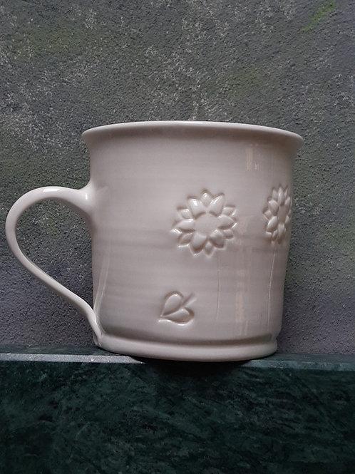 Porcelánový hrnek se slunečnicemi
