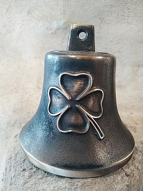 Zvon Ital velký s reliéfem čtyřlístkem, Ø90mm