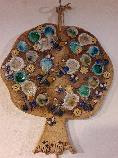 Kachel strom s motivem motýlů