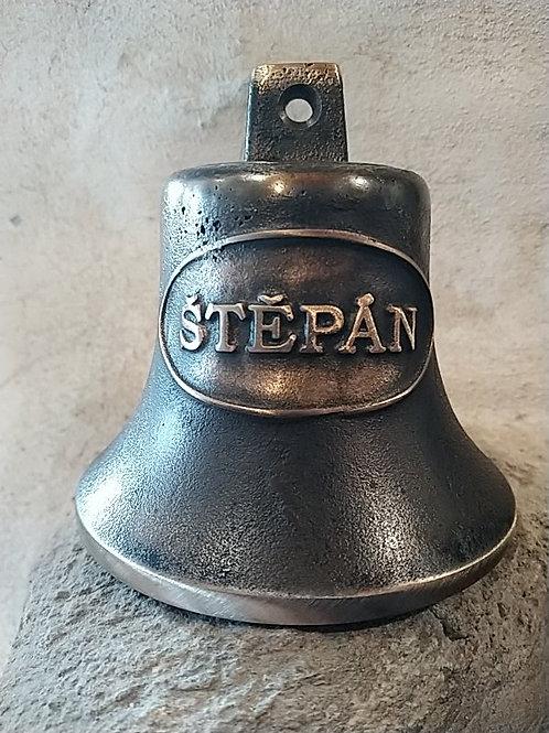 Zvon Ital velký s reliéfem Štěpán, Ø90mm