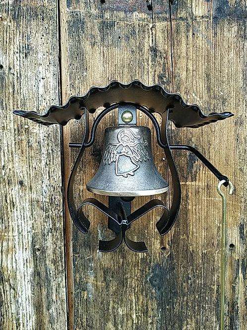 Zvonice kudrnatá s reliéfem anděla, Ø90mm