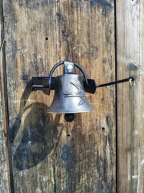 Zvonice jednoduchá s reliéfem vlaštovky, Ø90mm