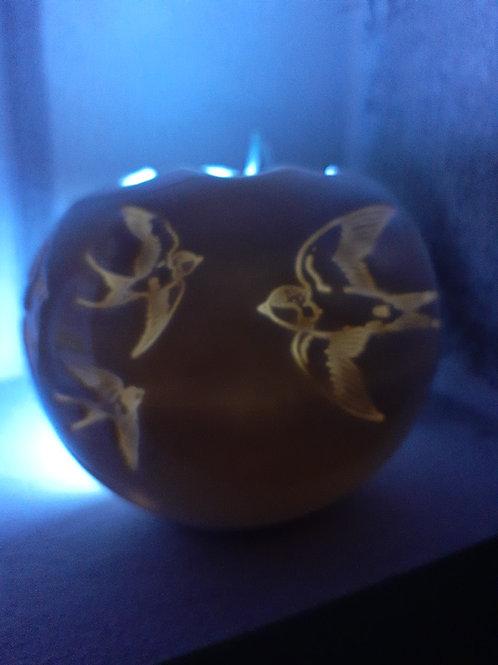 Průsvitová koule porcelán
