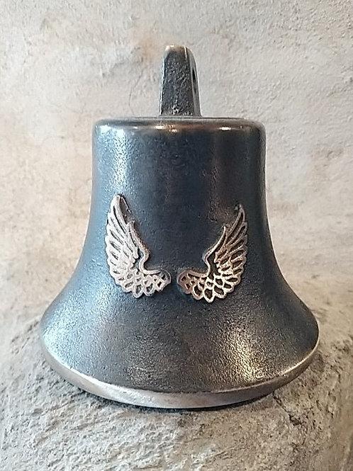 Zvon Ital velký s reliéfem křídel, Ø90mm