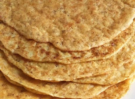 Paleo tortillas/tostadas mexicanas de P A P A S