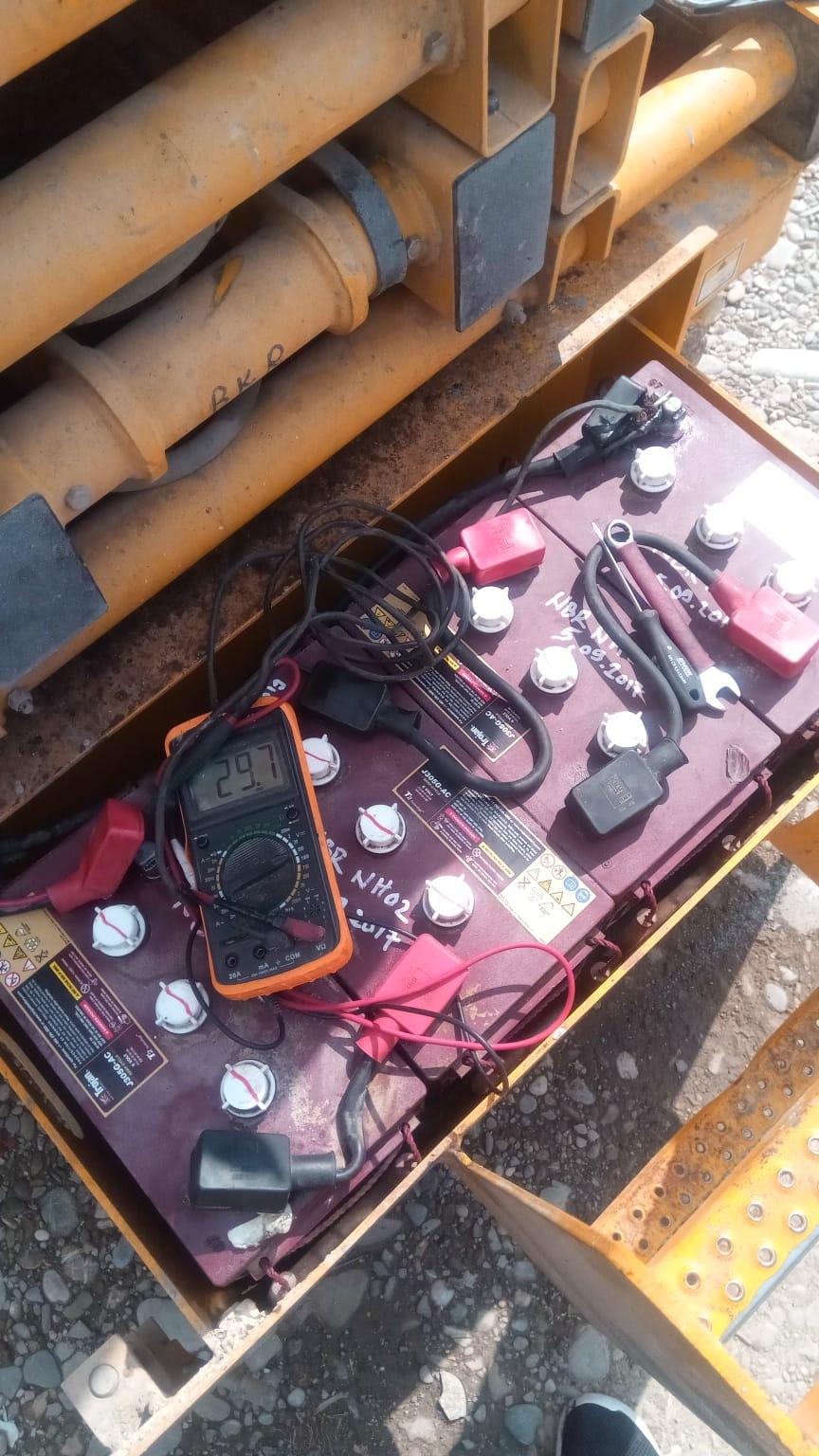 Verificare baterii Nacela