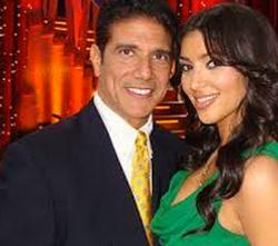 Corky Ballas with Kim Kardashian