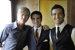 Corky Derek Hough Mark Ballas