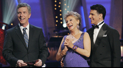 Tom bergeron Corky Ballas