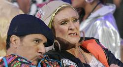 Corky Cloris Leachman Dancing Stars