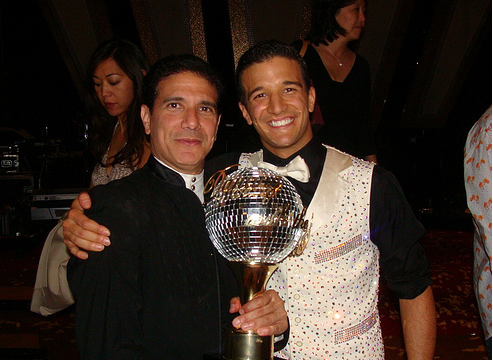 Corky and Mark Ballas