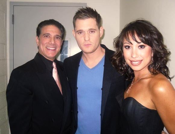 Corky Ballas Michael Buble