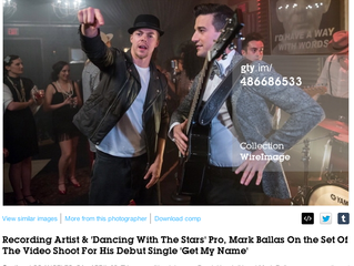 #MarkBallas to be featured on Dancing With The Stars hit Single #GetMyName
