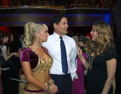 Corky Kym Johnson Mark Cuban