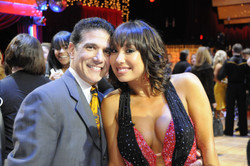 Corky and Cheryl Burke