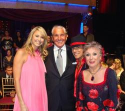 Corky Ballas and CLoris Leachman