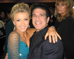 Corky and Julianne Hough Ballas