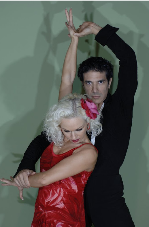 Corky and Kristina Rihanoff