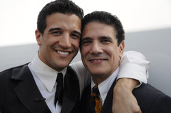 Corky and son Mark Ballas