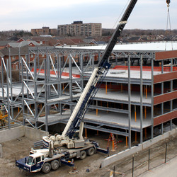 How long does it take to build a parking structure?